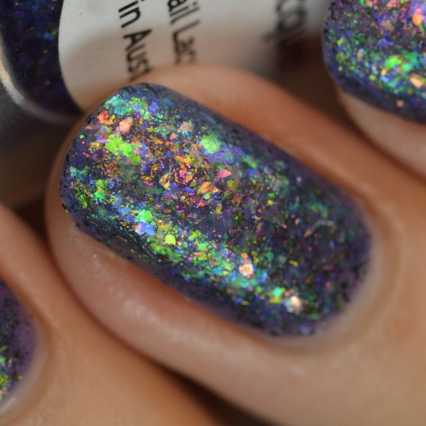 swatch lilypad ancient iridescence 10 matte