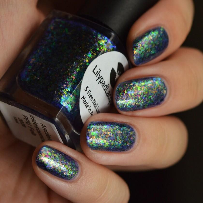 swatch lilypad ancient iridescence 3