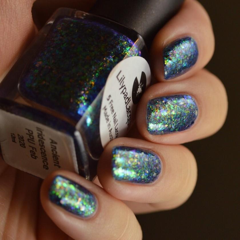 swatch lilypad ancient iridescence 4