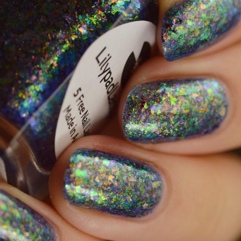 swatch lilypad ancient iridescence 5
