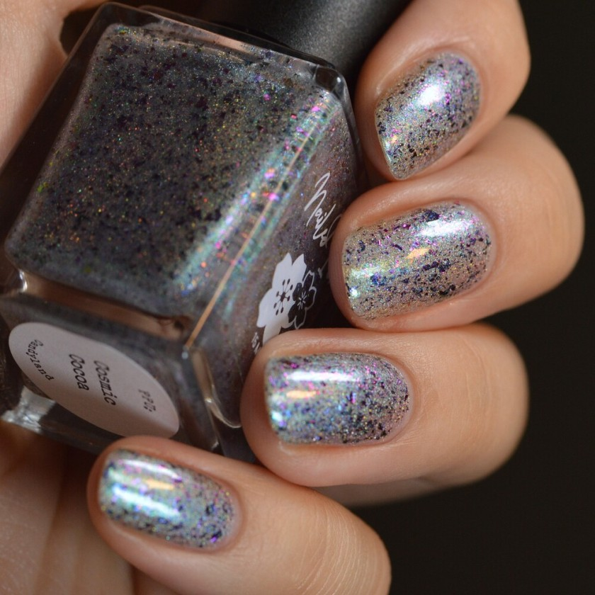swatch nailed it cosmic cocoa 3