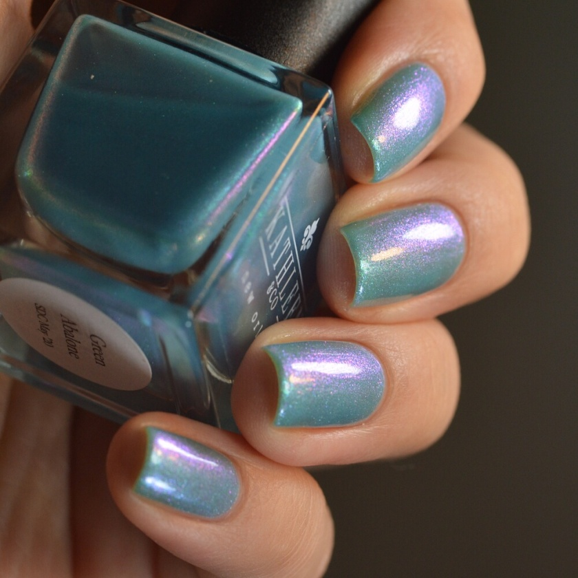 swatch kathleen&co green abalone 4