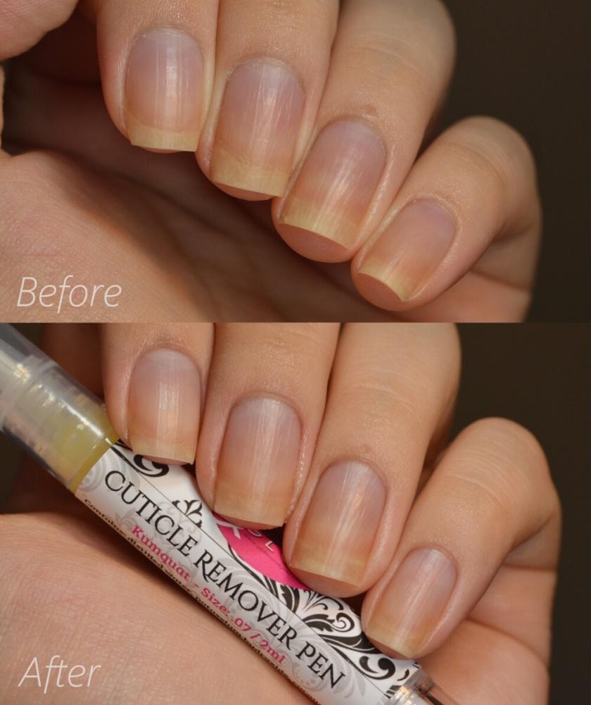 swatch g&g kumquat cuticle remover 1