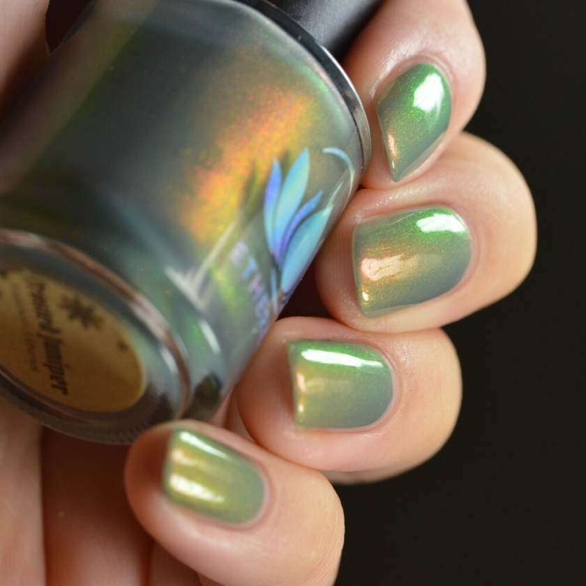 swatch ethereal frosted juniper 4