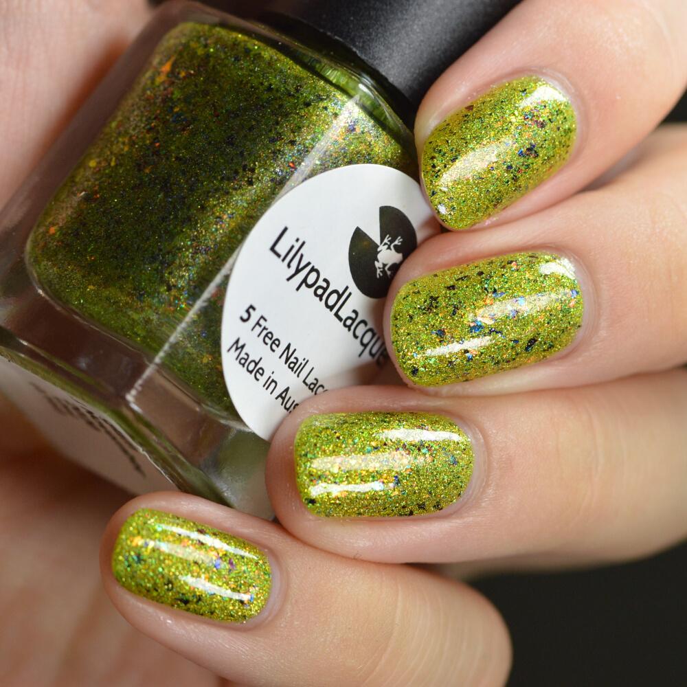 swatch lilypad gracefully glam 2
