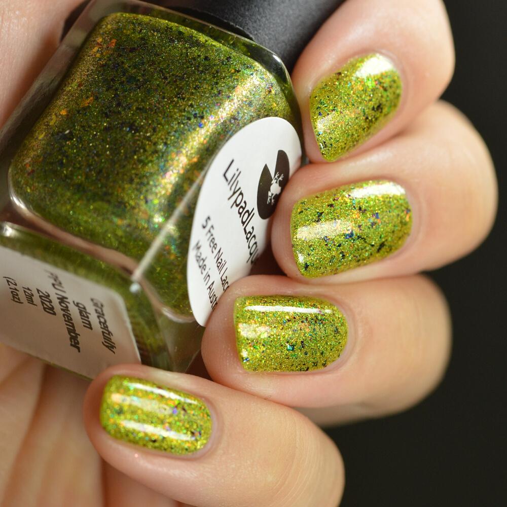 swatch lilypad gracefully glam 3