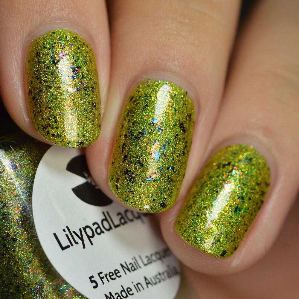 swatch lilypad gracefully glam 6
