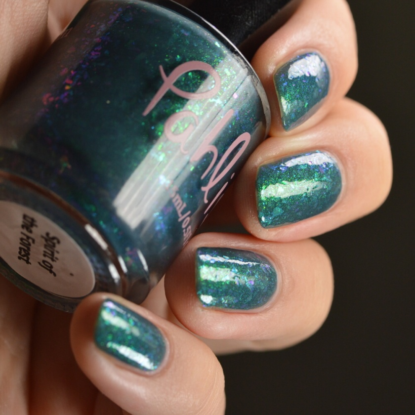 swatch pahlish spirit of the forest 3
