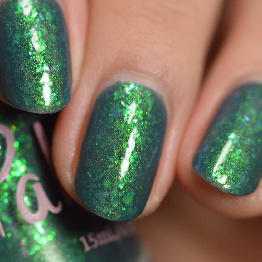 swatch pahlish spirit of the forest 5